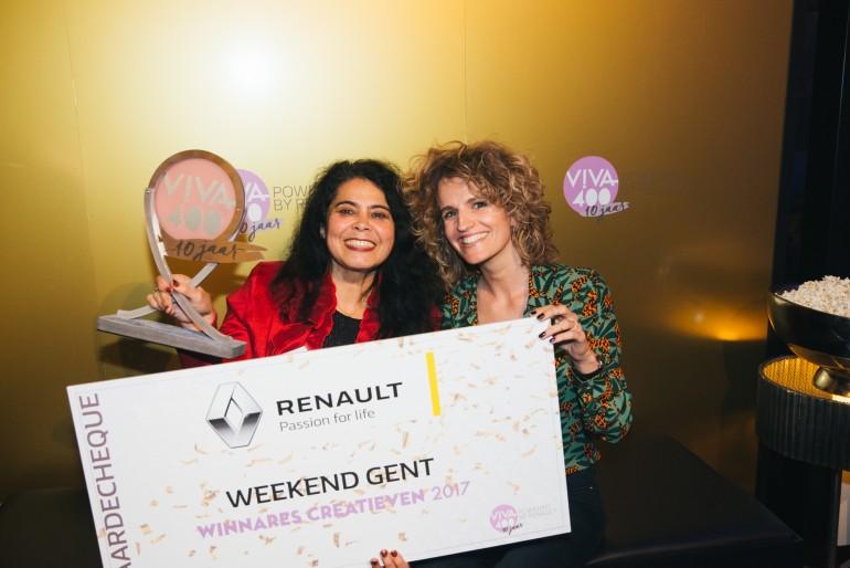 Danielle van Grondelle wint een VIVA-400 Award!