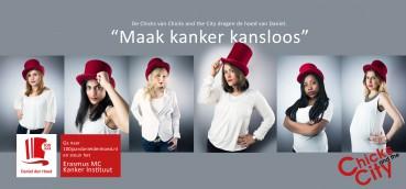 #chicksAndTheCity #chicks dragen hoed van Daniel #DanielDenHoed