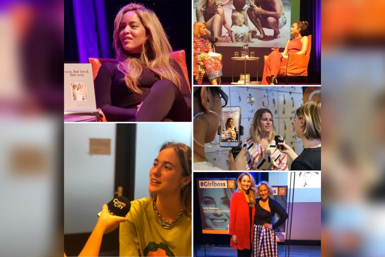 S02E14 Jamie Li, Nina Pierson, Emilie Sobels, Teske de Schepper en Kelly Weekers #Girlboss